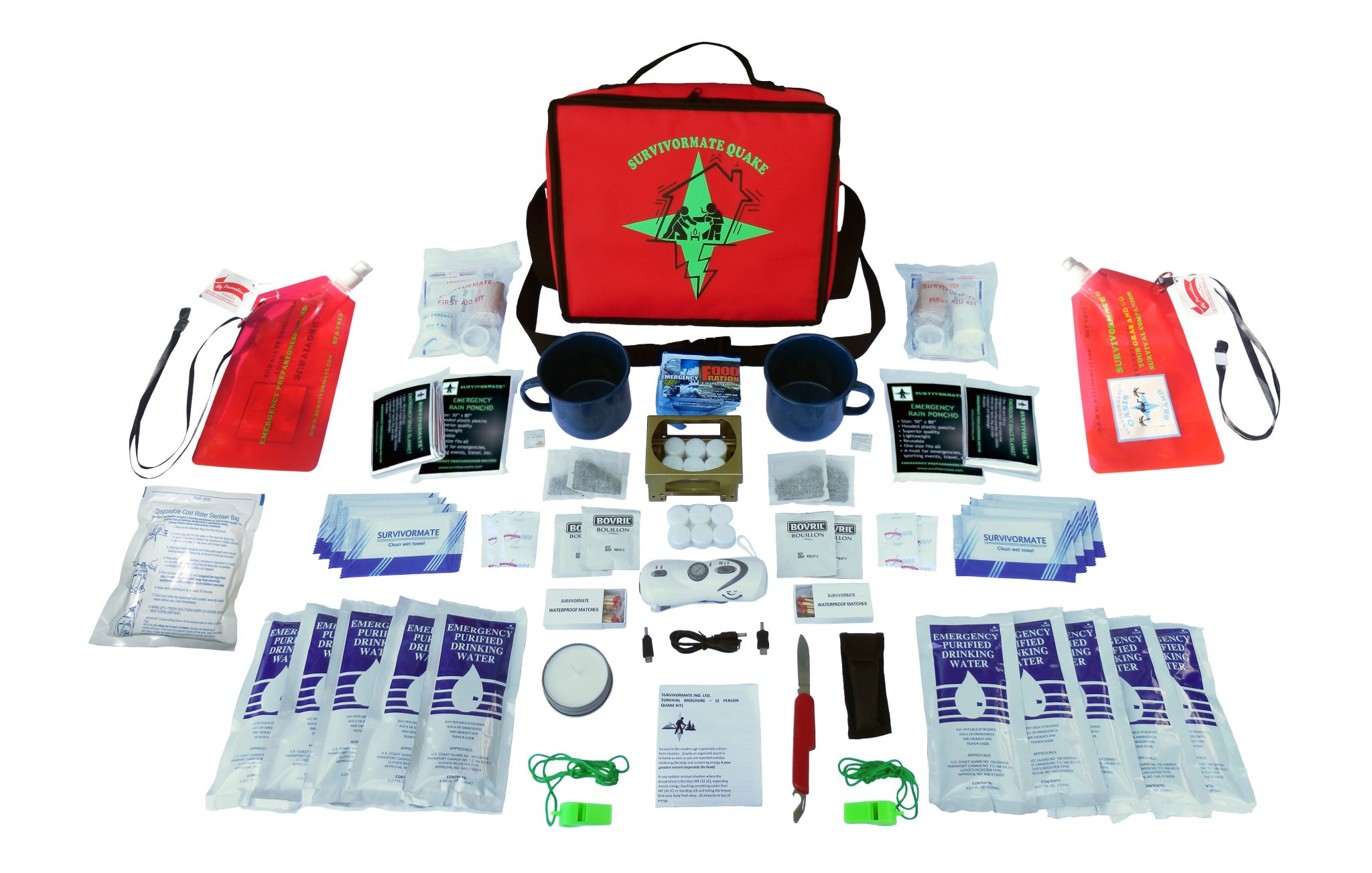 Survivormate Quake 2-Person Kit