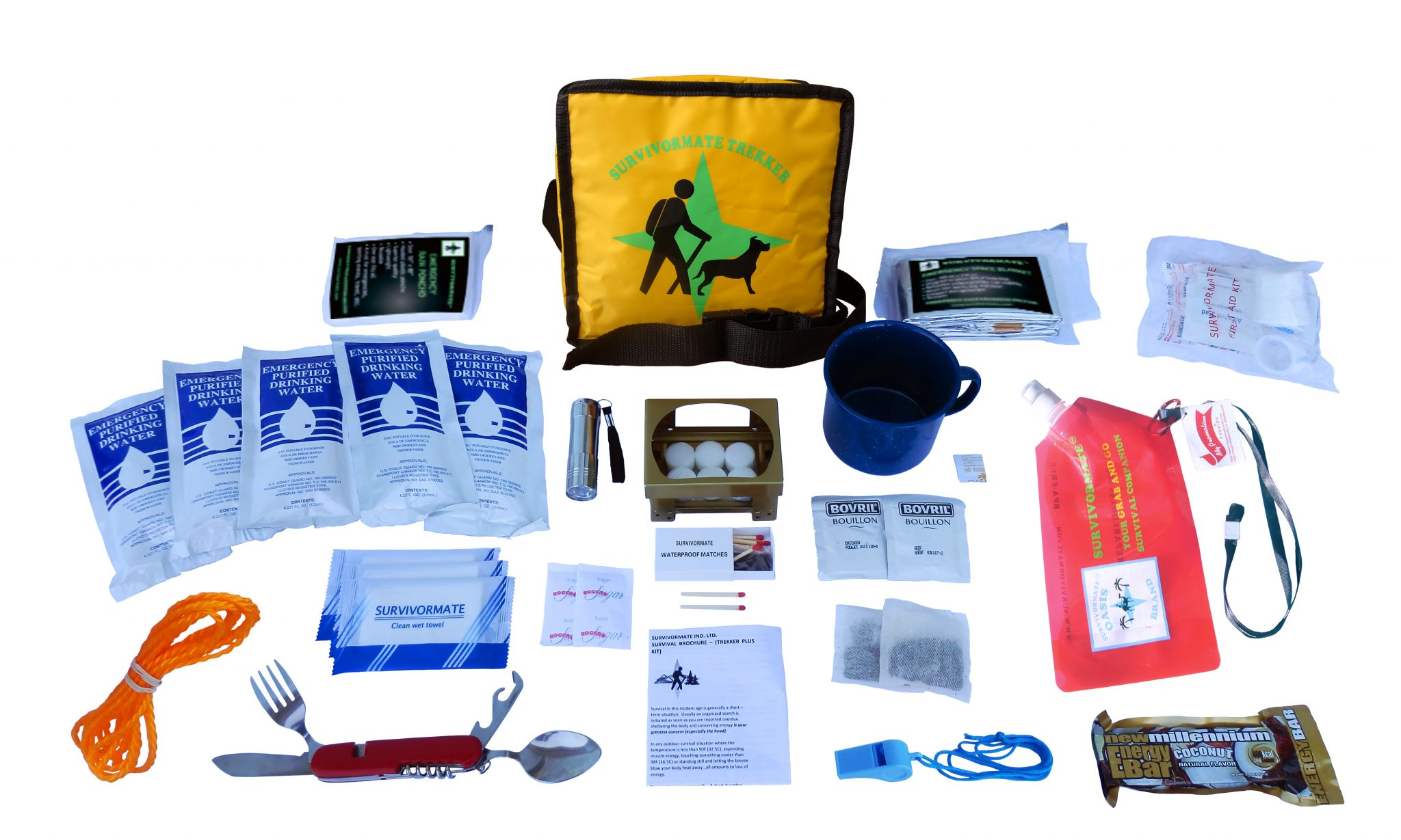 Survivormate Trekker Kit