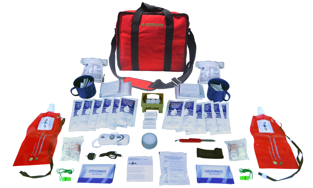 Survivormate Quake 2-Person 3-Day Kit